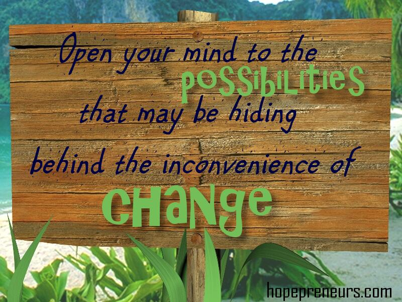 Image result for inconvenience of change