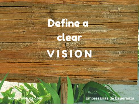 DEFINE A CLEAR VISION-E