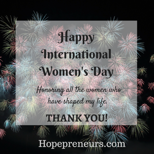HOPEprenuers-Int'l Women's Day